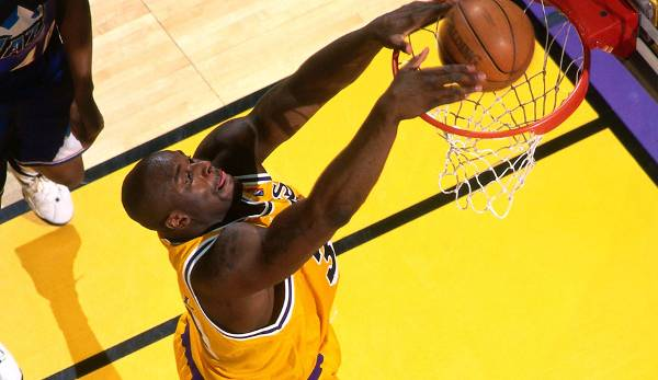 Platz 19: Shaquille O'Neal - 59,7 Prozent in 216 Spielen (Orlando Magic, Los Angeles Lakers, Miami Heat, Phoenix Suns, Cleveland Cavaliers, Boston Celtics)