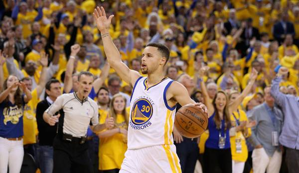 Platz 2: Stephen Curry - 69,3 Prozent in 75 Spielen (Golden State Warriors)