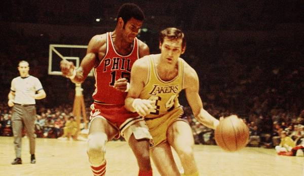 Platz 21: Jerry West - 59,1 Prozent in 153 Spielen (Los Angeles Lakers)