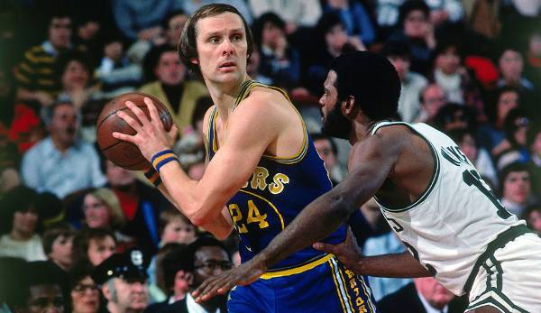 Platz 26: Rick Barry - 52,7 Prozent in 74 Spielen (San Francisco/Golden State Warriors, Houston Rockets)