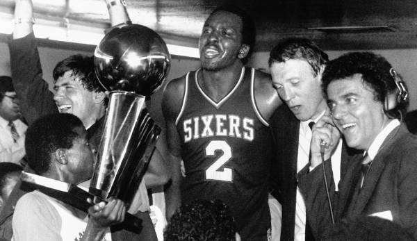 Platz 28: Moses Malone - 52 Prozent in 100 Spielen (Houston Rockets, Philadelphia 76ers, Washington Bullets, Atlanta Hawks)