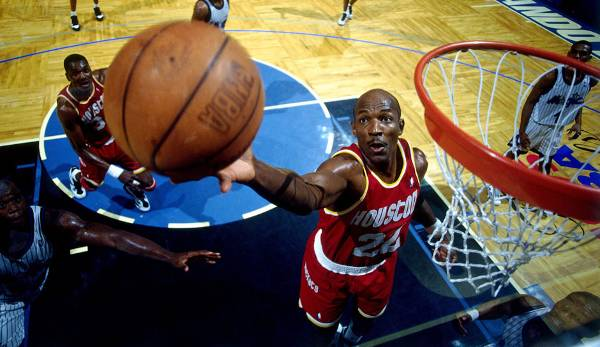 Platz 31: Clyde Drexler - 51 Prozent in 145 Spielen (Portland Trail Blazers, Houston Rockets)