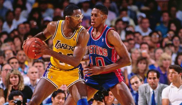 Platz 5: James Worthy - 67,1 Prozent in 143 Spielen (Los Angeles Lakers)
