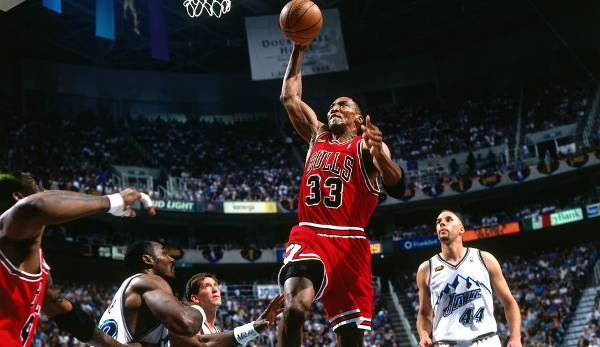 Platz 9: Scottie Pippen - 65,4 Prozent in 208 Spielen (Chicago Bulls, Houston Rockets, Portland Trail Blazers)