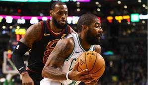 Boston Celtics vs Cleveland Cavaliers.