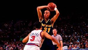 Indiana Pacers: Reggie Miller (1987-2005) - 25.279 Punkte