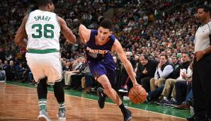 TD Garden, Boston: 70 Punkte von Devin Booker am 24.03.2017.