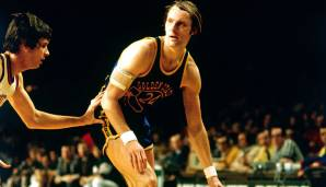 Oracle Arena, Golden State: 64 Punkte von Rick Barry am 26.03.1974.