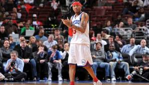 Wells Fargo Center, Philadelphia: 60 Punkte von Allen Iverson am 12.02.2005.
