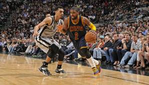 AT&T Center, San Antonio: 57 Punkte von Kyrie Irving am 12.03.2015.