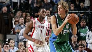 American Airlines Center, Dallas: 53 Punkte von Dirk Nowitzki am 02.12.2004.