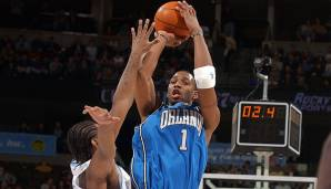 51 Punkte von Tracy McGrady (Orlando Magic) am 15.11.2003.