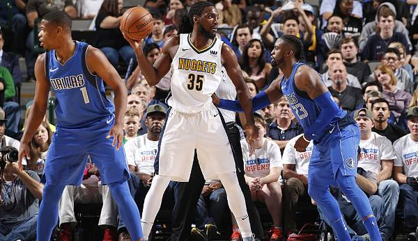 Kenneth Faried (2011-heute) - Denver Nuggets.