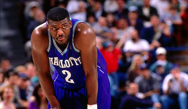 Larry Johnson (1991-2001) - Charlotte Hornets, New York Knicks.