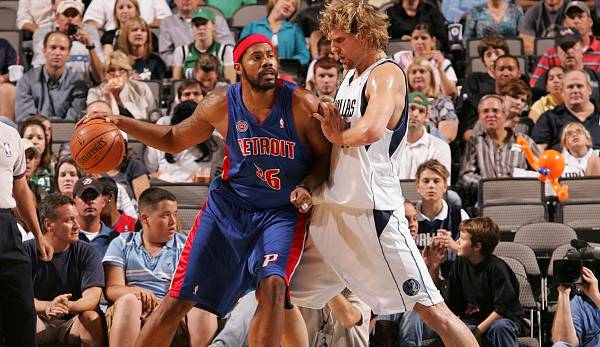 Rasheed Wallace (1995-2013) - Washington Bullets, Portland Trail Blazers, Atlanta Hawks, Detroit Pistons, Boston Celtics, New York Knicks.