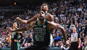 Platz 12: Al Horford (Boston Celtics): 101 Punkte, 53 Rebounds, 20 Assists - 173 Dunkest-Punkte (6 Spiele)