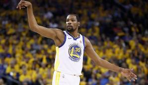 Platz 14: Kevin Durant (Golden State Warriors): 141 Punkte, 42 Rebounds, 26 Assists - 171 Dunkest-Punkte (5 Spiele)