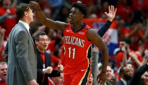 Platz 14: Jrue Holiday (New Orleans Pelicans): 213 Punkte, 51 Rebounds, 57 Assists - 272,5 Dunkest-Punkte (9 Spiele).