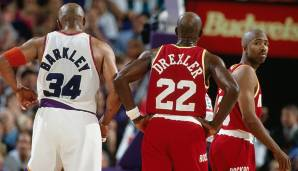 Conference Semifinals 1995: Pheonix Suns - Houston Rockets 114:115