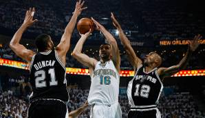Conference Semifinals 2008: New Orleans Hornets - San Antonio Spurs 82:91