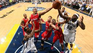1. Runde 2012: Memphis Grizzlies - Los Angeles Clippers 72:82