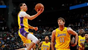 Lonzo Ball (Los Angeles Lakers): 10.2 PPG, 7.2 APG, 6.9 RPG, 1.69 SPG (87 Punkte der abstimmenden Experten)