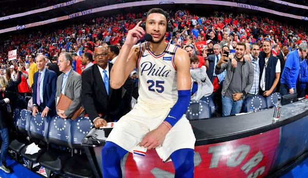 ROOKIE OF THE YEAR: Ben Simmons (Philadelphia 76ers) - 15,8 Punkte, 8,1 Rebounds, 8,2 Assists.