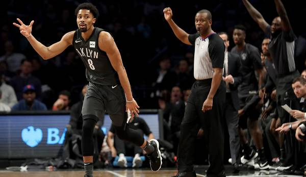 Spencer Dinwiddie (Brooklyn Nets): 12,6 Punkte, 3,2 Rebounds, 6,6 Assists.