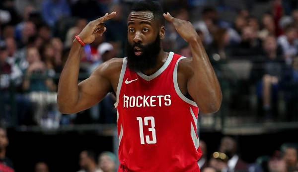 MOST VALUABLE PLAYER: James Harden (Houston Rockets) - 30,4 Punkte, 5,4 Rebounds, 8,8 Assists.