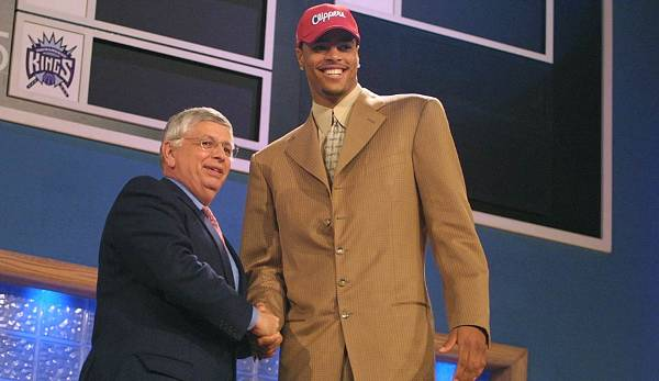 Tyson Chandler, 2001, L.A. Clippers (3,38 % Chance auf 2nd Pick).