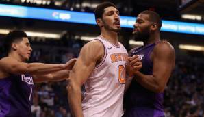 Enes Kanter, New York Knicks: 18,6 Millionen Dollar, Spieler