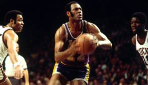 Platz 1: Elgin Baylor (1958-1971) - Teams: Lakers - Finals-Teilnahmen: 8 (1959, 1962, 1963, 1965, 1966, 1968-1970)