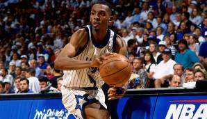 Platz 22: Penny Hardaway (1993-2007) - Teams: Magic, Suns, Knicks, Heat - Finals-Teilnahmen: 1 (1995)