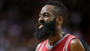 Platz 15: James Harden (2009-) - Teams: Thunder, Rockets - Finals-Teilnahmen: 1 (2012)