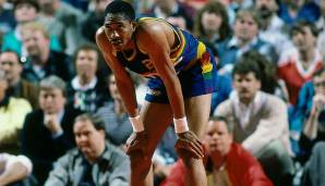 Platz 12: Alex English (1976-1991) - Teams: Bucks, Pacers, Nuggets, Mavs - Finals-Teilnahmen: keine