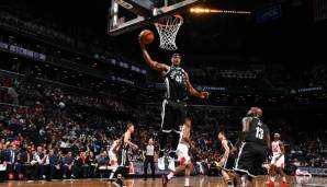 Brooklyn Nets: 24 Dreier gegen Chicago am 07.04.2018.
