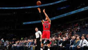 Chicago Bulls: 18 Dreier gegen Washington am 04.01.2018.