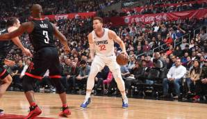 Los Angeles Clippers: 22 Dreier gegen Houston am 18.01.2018.
