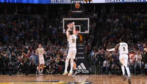 Denver Nuggets: 24 gegen Milwaukee am 25.02.2018 und Golden State am 13.02.2017.