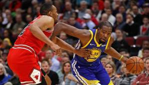 Golden State Warriors: 24 Dreier gegen Chicago am 29.10.2018.