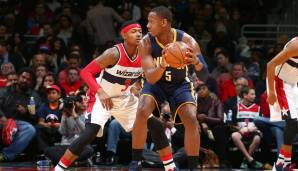 Indiana Pacers: 19 Dreier gegen Washington am 24.11.2015.