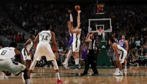 Milwaukee Bucks: 22 Dreier gegen Sacramento am 04.11.2018.