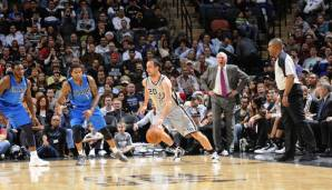 San Antonio Spurs: 20 Dreier gegen Dallas am 23.12.2012.