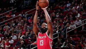 Houston Rockets: 26 Dreier gegen Washington am 19.12.2018.