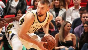 MOST IMPROVED PLAYER: Platz 3: Domantas Sabonis (Indiana Pacers) - 18 Prozent der Stimmen.