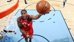 MOST VALUABLE PLAYER: Platz 3: Kawhi Leonard (Toronto Raptors) - 13 Prozent der Stimmen.