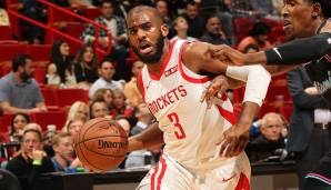 WESTERN CONFERENCE: BACKCOURT - Platz 10: Chris Paul (Houston Rockets) - 306.808 Stimmen.