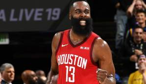 Platz 3: James Harden (Houston Rockets) - 1.674.660 Stimmen.
