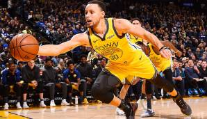 Platz 1: Stephen Curry (Golden State Warriors) - 2.094.158 Stimmen.