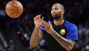 FRONTCOURT: Platz 10: DeMarcus Cousins (Golden State Warriors) - 276.849 Stimmen.